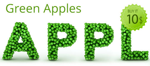 Font-ClipArt.com » Green Leaves v2 (+v1) Font Clipart Bundle